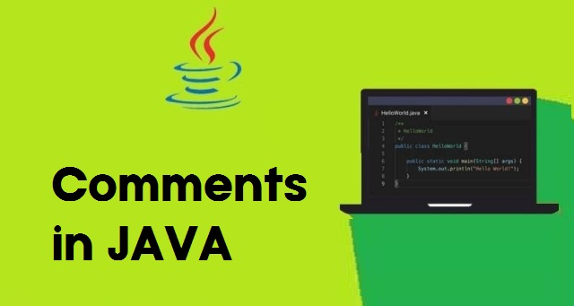 Comments in Java in Hindi